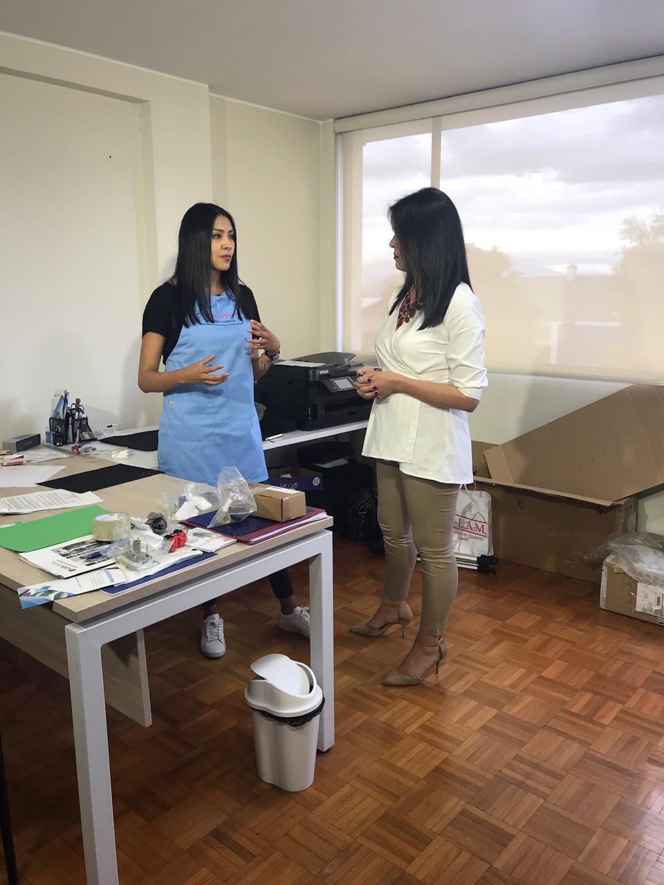 La organización de espacios en el Ecuador