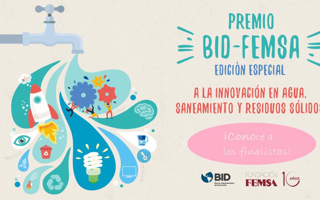 Finalistas del Premio BID FEMSA 2019: las mejores innovaciones en agua y saneamiento están aquí